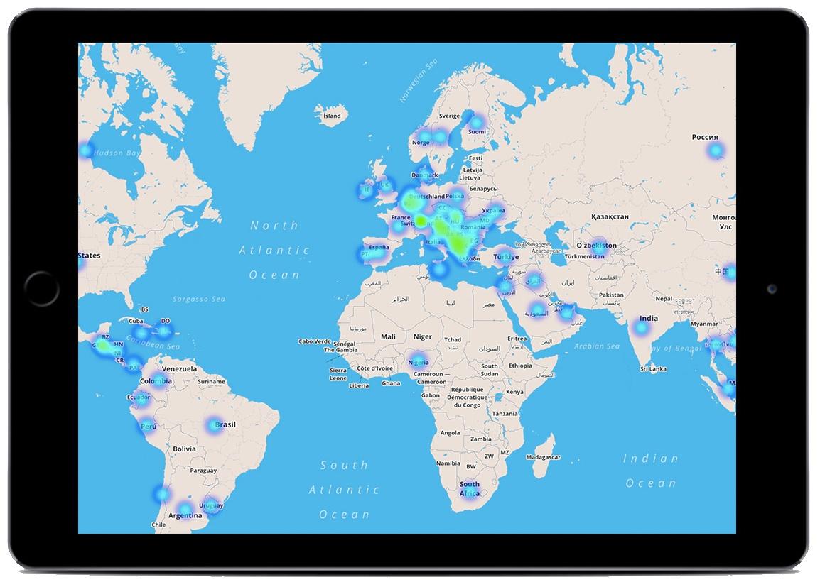 Connettività cellulare globale